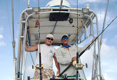 fishing charters with  captain warren sellers