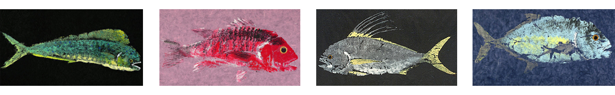 gyutaku fish prints