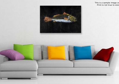 Gyotaku Redfish