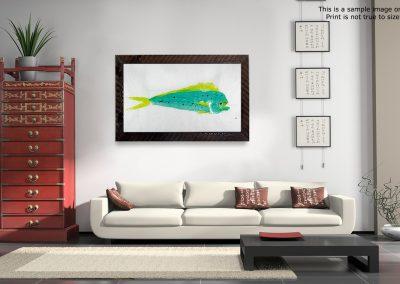 Gyotaku Dorado