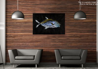 Gyotaku Trevally