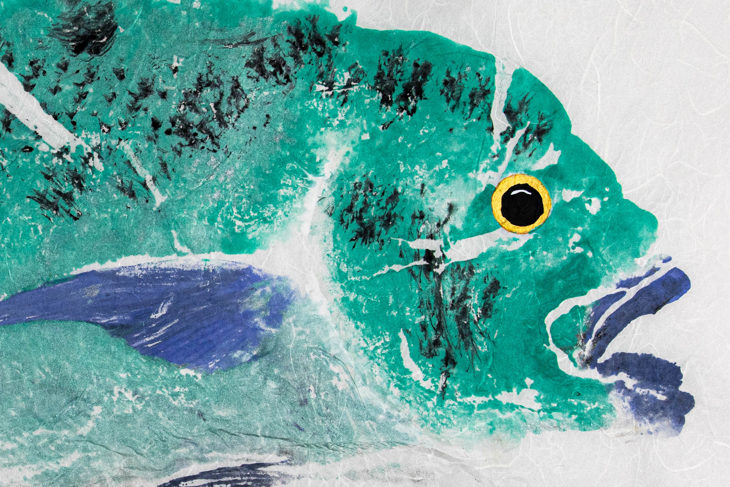 Gyotaku Fish Art