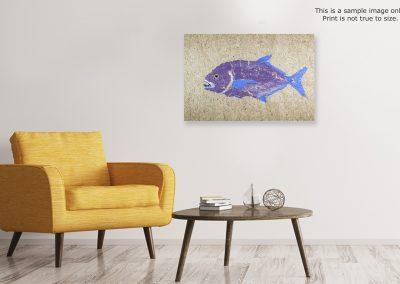 Gyotaku Trevally