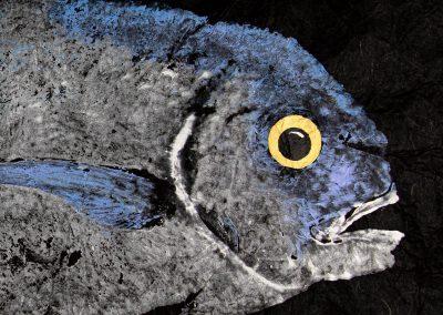 Gyotaku Pompano