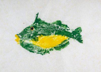 triggerfish gyotaku shop