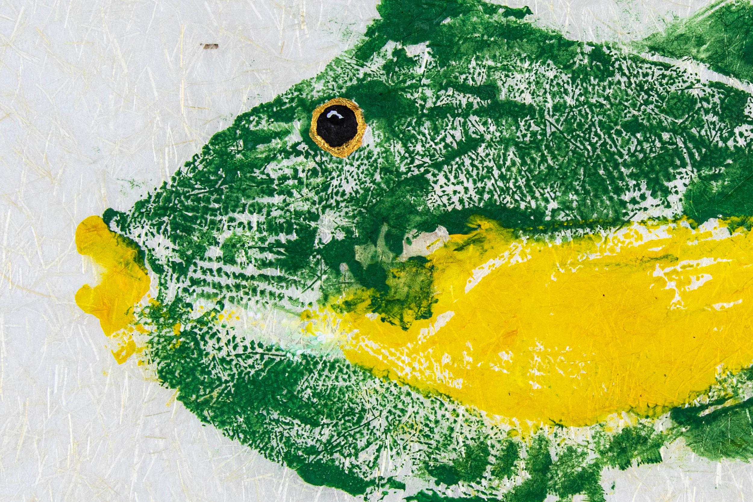 Gyotaku Triggerfish