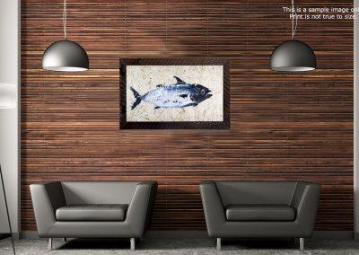 gyotaku saltwater fish prints on japanese paper