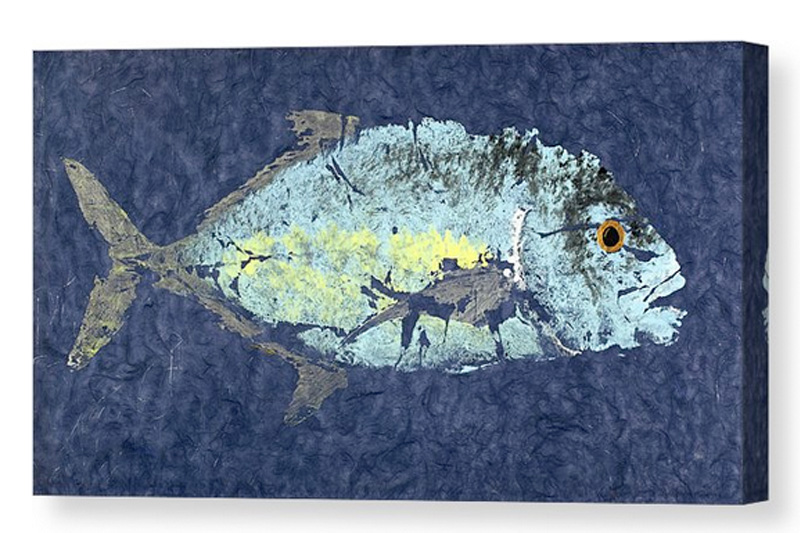 Gyotaku Canvas Fine Art America