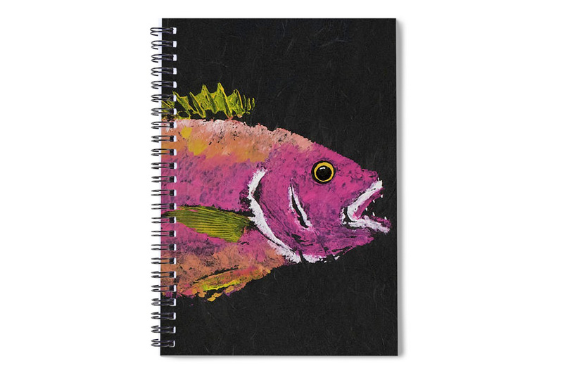 Gyotaku Notebook Fine Art America