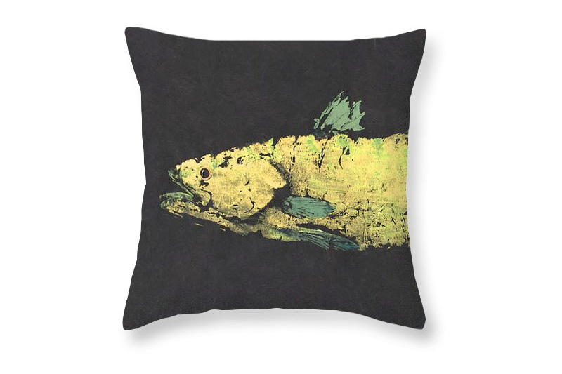 Gyotaku Pillow Fine Art America