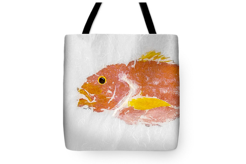 Gyotaku Bag Fine Art America